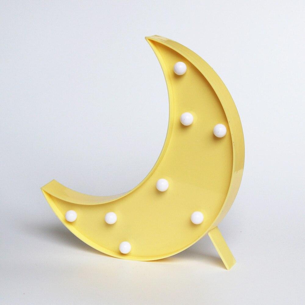 Lovely Moon LED 3D Light children 39 s Night Light Kids Gift Toy For Baby Children Bedroom Tolilet Lamp Decoration Indoor Lighting in LED Night Lights from Lights amp Lighting