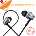 Original xiaomi híbrido pro hd fones de ouvido com microfone controle de voz driver triplo xiaomi mi in-ear fones de ouvido pro hd prata em estoque