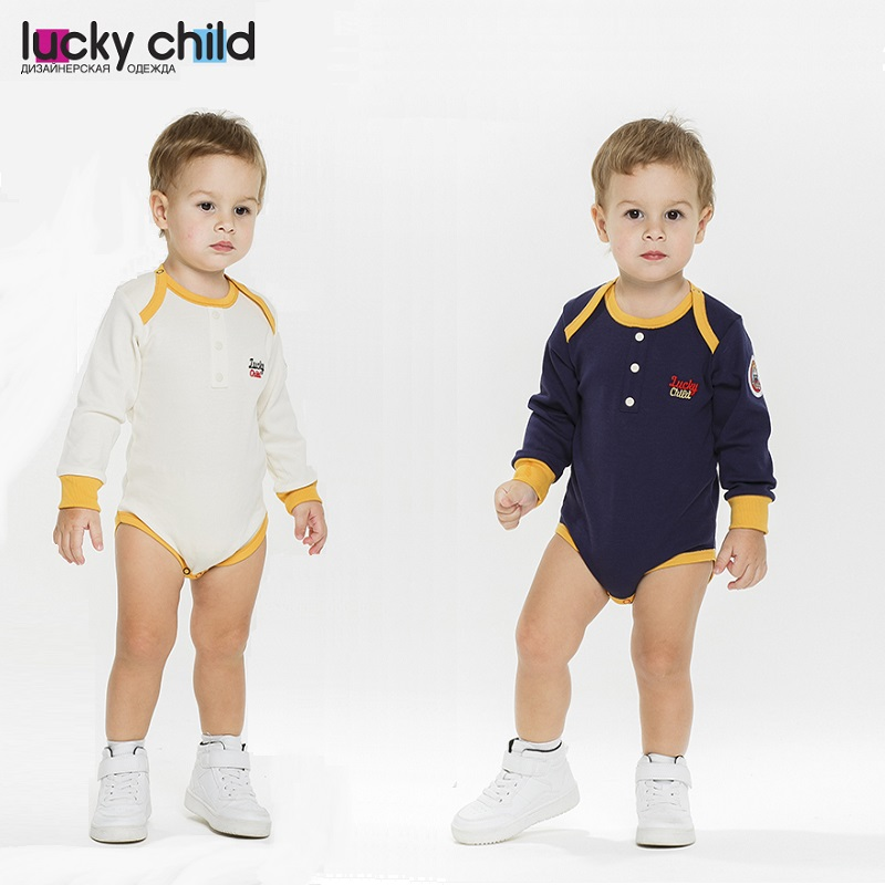 Bodysuits Lucky Child for boys 27-19 Body Newborns Babies Baby Clothing Children clothes