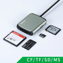 リャノで 4 1 USB 3.0 スマートカードリーダーフラッシュマルチメモリカード Tf/SD/MS /CF 4 カード読み取りマイクロ SD usb フラッシュカード