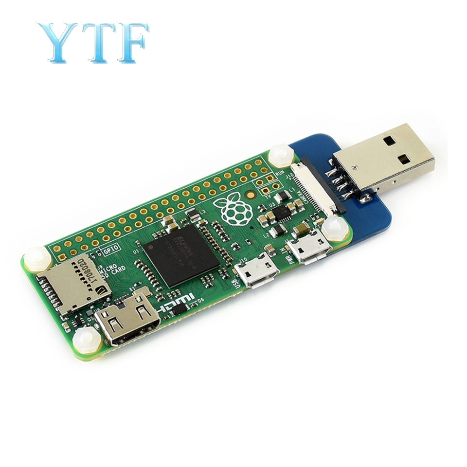 Raspberry Pi Zero W Micro USB To Type A Adapter Board Expansion Power Supply