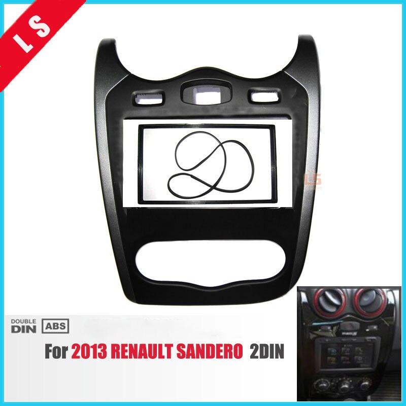 2 Din font b Car b font font b Radio b font Fascia for 2013 Renault