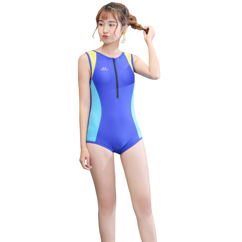 Women Bodysuit Sports Slimming One Piece Swimsuit Professional Long Athletic Swimwear Bathing Suit Swim Wear paulmann спот paulmann 600 93