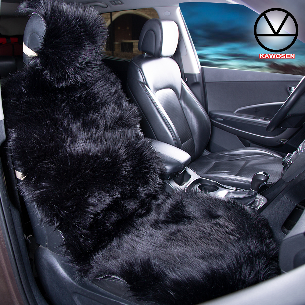 Remarkable Best Discount Warm Plush Car Seat Cover Universal Winter Pabps2019 Chair Design Images Pabps2019Com