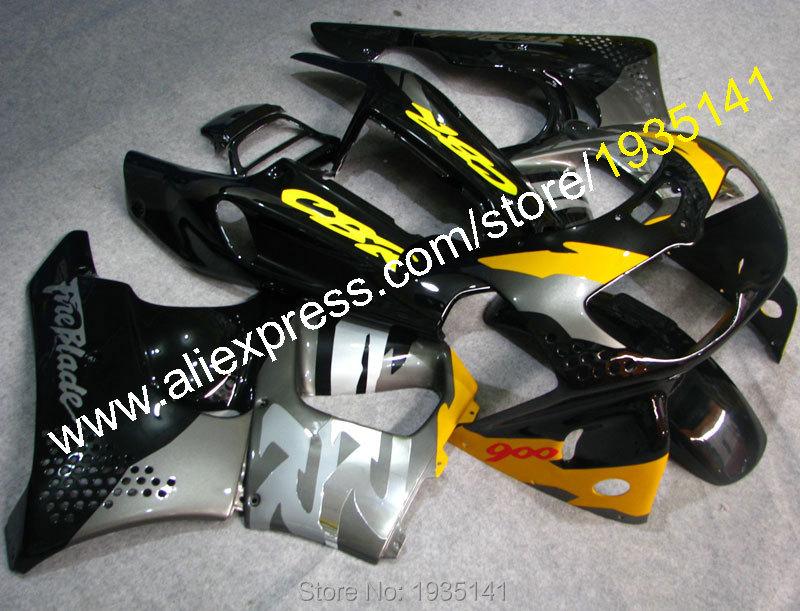 Hot Sales,For Honda CBR900RR 94-95 Fireblade CBR 893RR 1994-1995 CBR 893 CBR900 RR Sportbike ABS Plastic Body Motorbike Fairing