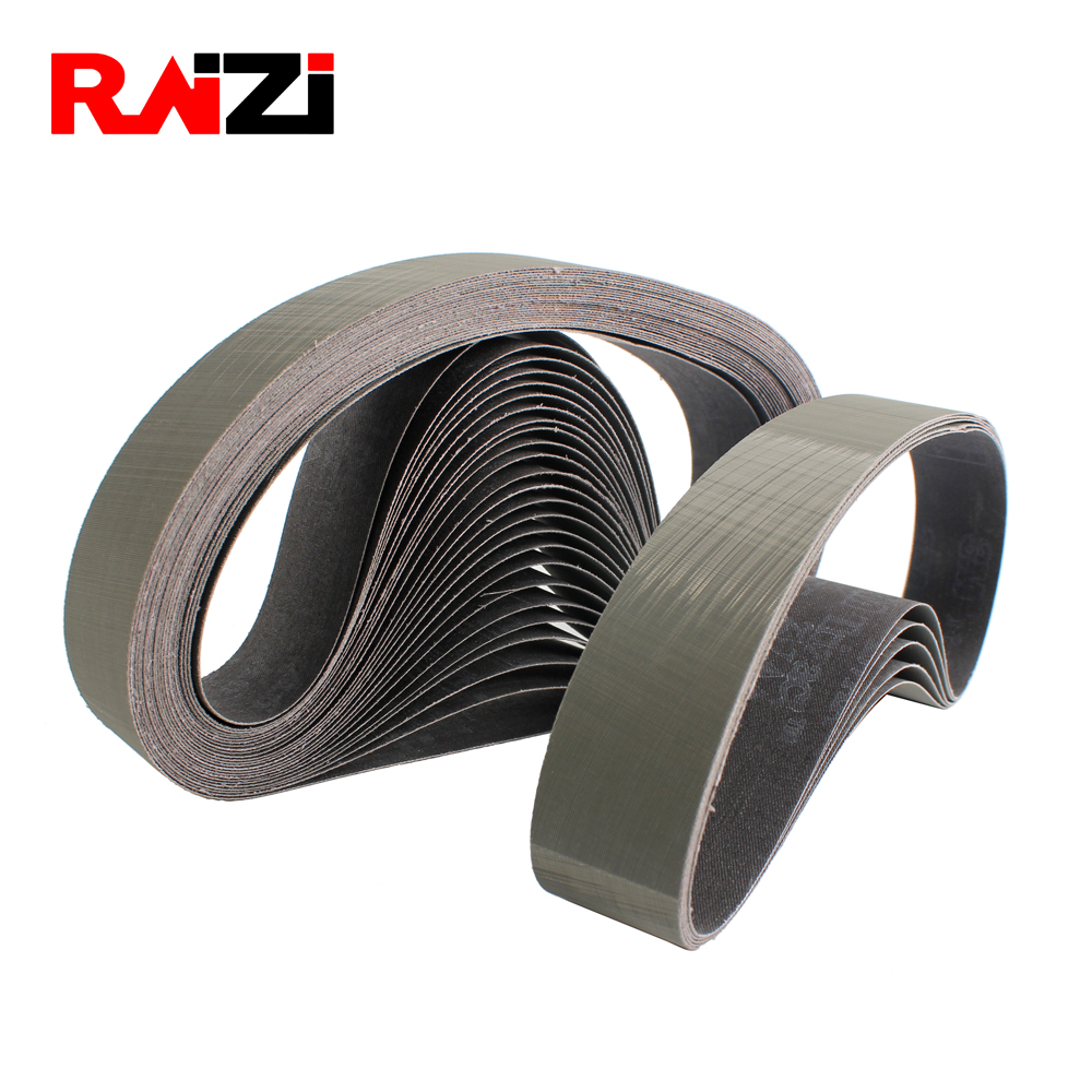 Raizi 3 Pieces Abrasive 3M Sanding Belt For Stainless Steel Sander/polisher P800-2500