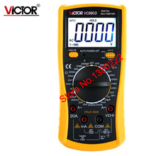 VICTOR VC890D Digital Multimeter True RMS digital multimeter capacitor 2000uF backlit universal table  Ammeter Multitester