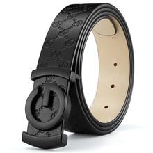 купить Fashion Men Belt Cow Genuine Leather Designer Belts For Men High Quality Fashion Vintage Male Women Strap For Jeans Cow Skin дешево