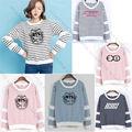 ALLKPOPER Kpop BTS Семнадцать EXO Sweatershirt Женщины БАТ GOT7 IKON Monsta X VIXX