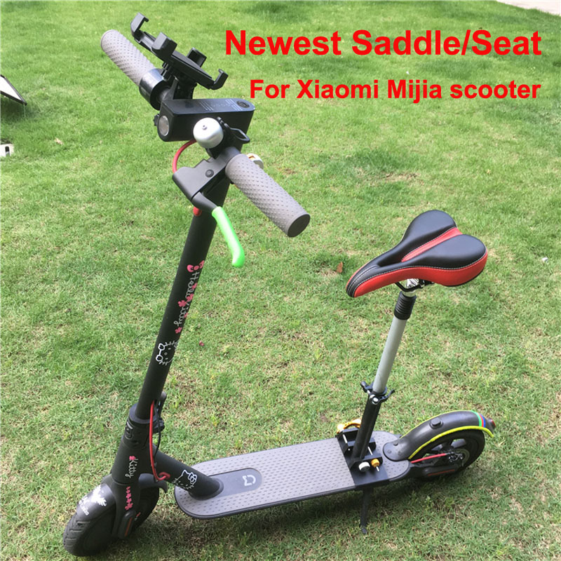 Newest Xiaomi Electric Scooter Seat Foldable Mijia M365 Scooter Saddle Electric Scooter Seat Height Adjustable With Bumper