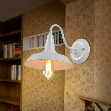 Loft Style Iron Bedroom Wall Lamp Antique Edison Wall Sconce Industrial Vintage Wall Light Fixtures For Home Lighting Lampara vintage wrought iron industrial wall lamp bedroom outdoor wall sconce mounted beside reading light for home decoration