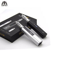 Newest Vax plus dry herb & wax Vaporizer 3000mah battery OLED display TC electronic cigarette with water pipe smoking vape