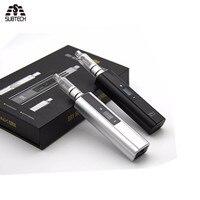 Nieuwste Vax plus dry herb & wax Vaporizer 3000 mah batterij oled-scherm TC elektronische sigaret met water pijp roken vape
