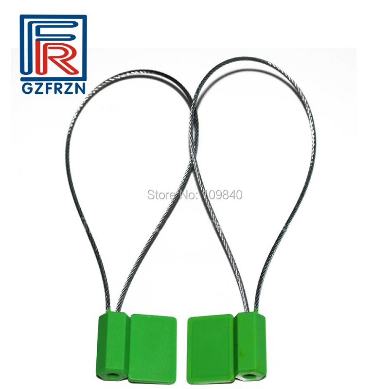 100pcs/lot 915MHz UHF RFID Seal Tags with Alien H3 For Steel Wire Seal Lock Cable Tie ISO18000-6C 100pcs lot stainless steel cable tie 7 9x1200 for wire cable