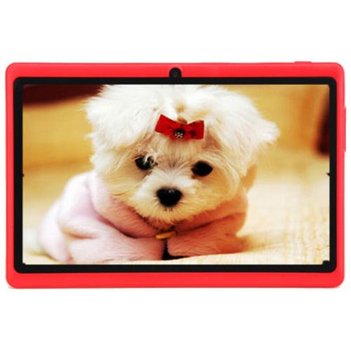 7″ HD Touch screen Android 4.4 Quad Core Dual Camera Tablet PC Red