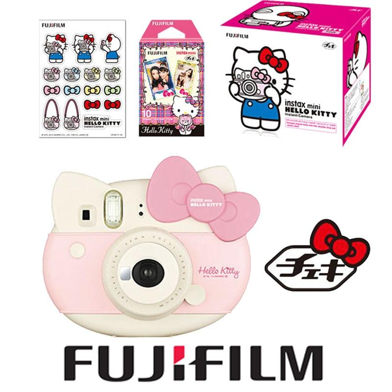 Fujifilm Fuji Instax Instant Mini Lovly Pink Hello Kitty Limited Edition Instant Instax Camera Mini Hello