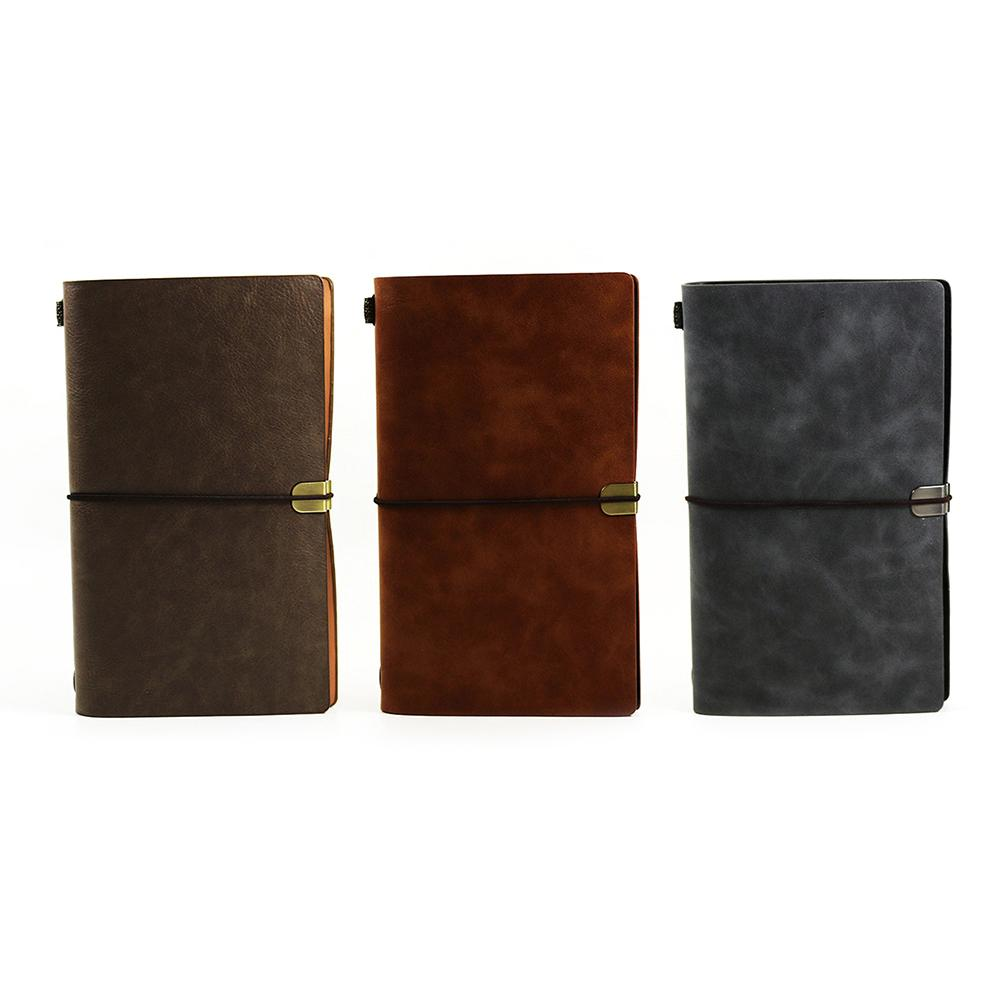 Business Office Portable Notebook Strap Faux Leather Notepad Folding Card Bag Culture And Education Paper Office SuppliesBusiness Office Portable Notebook Strap Faux Leather Notepad Folding Card Bag Culture And Education Paper Office Supplies