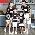 Свободного покроя семьи соответствующие наряды мать / мама и дочь платья семья одежда отец сын футболка одежды , соответствующие одежда CH59