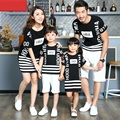 Casual Family Matching Outfits Mother/Mom and Daughter Dresses Family Clothing Father Son T-shirt Clothes Matching Clothing CH59