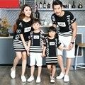 Ocasional de la familia a juego trajes madre / madre e hija vestidos ropa familiar padre hijo camiseta ropa ropa a juego CH59