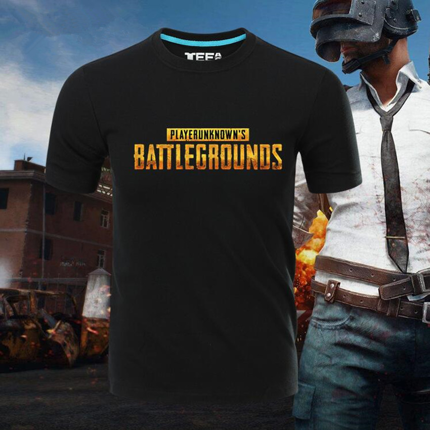 Esihou Woman Man Game PUBG Playerunknown's Battlegrounds Lovely Printing Custom Made T-shirt Tees Gift