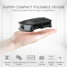 BABY ELFIE RC Selfie Drone with HD FPV Quadcopter Mini Pocket Foldable RC Drones Helicopter  Upgraded H37 VS H36 H31 H37