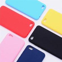 Xiaomi Redmi Note 5A étui Redmi Note 5A étui primaire en Silicone couleur mat étui en polyuréthane thermoplastique souple pour Xiaomi Redmi Note 5A coque de téléphone