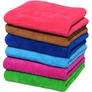 Thickened double coral velvet cloth super absorbent towel mop the floor away furniture glass cleaning cloth