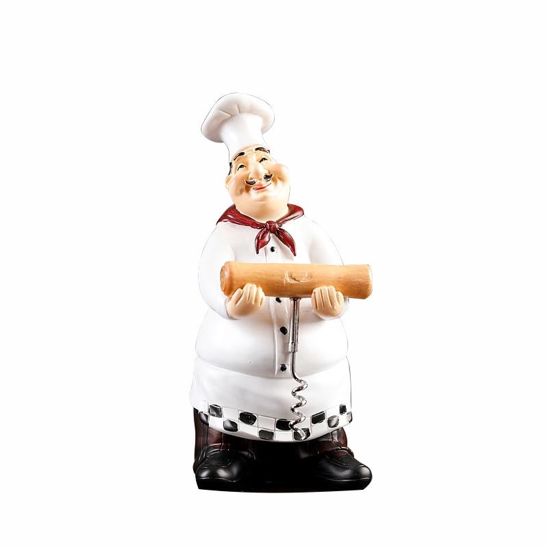 Fantastic Us 30 6 40 Off Creative Cute Chef Statue Figurine Ornaments Vintage Home Decor Kitchen Restaurant Resin Crafts Toothpick Dispenser Box Holder In Download Free Architecture Designs Scobabritishbridgeorg