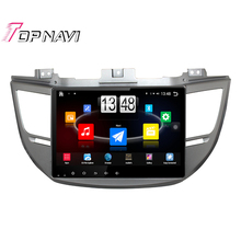"""10.1"""" Quad Core Android 4.4 Car PC Stereo GPS For HYUNDAI IX35/Tucson 2015 With Radio Audio Map Without DVD Free Shipping"""