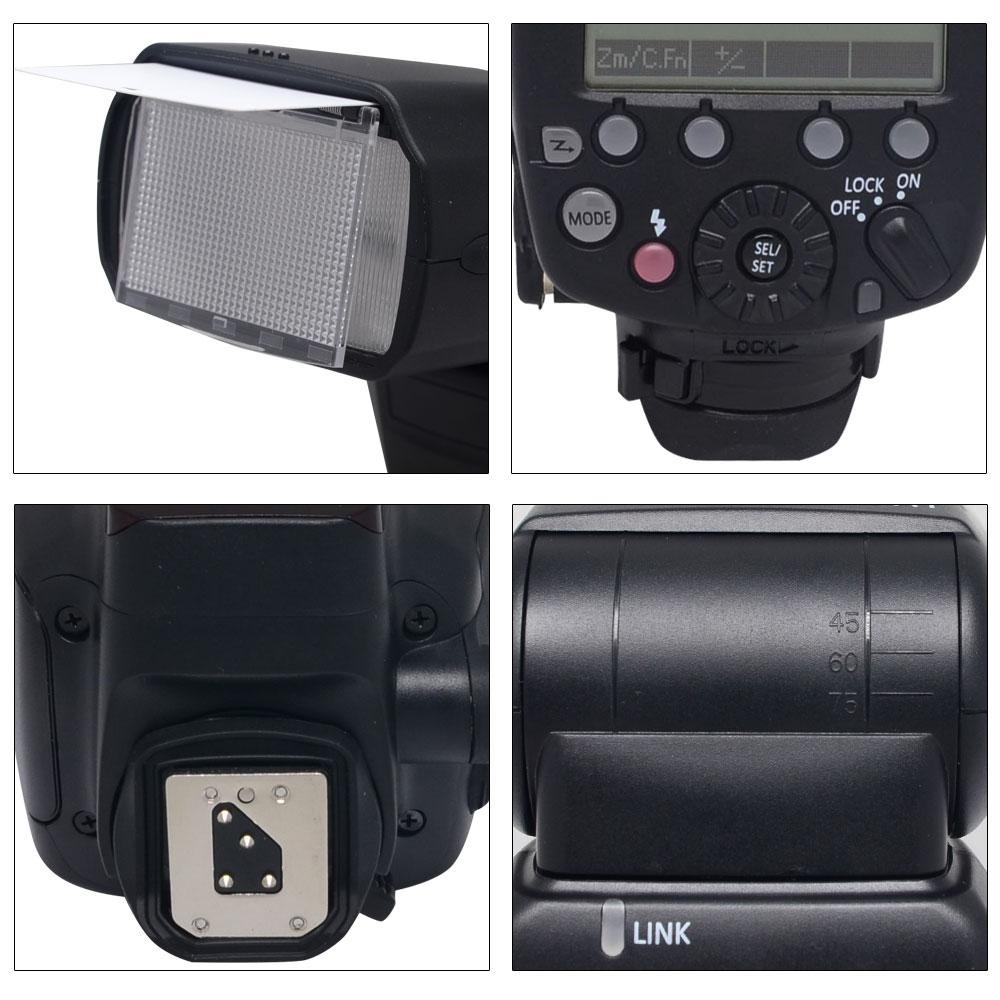 Shanny SN910EX-RF i-TTL GN60 1 / 8000s 2,4 GHz Funkübertragung Blitz - Kamera und Foto - Foto 6