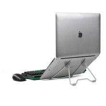 Складная портативная подставка для ноутбука Угол обзора/регулируемая высота качественный кронштейн из алюминиевого сплава поддержка 10-17 дюймов ноутбук