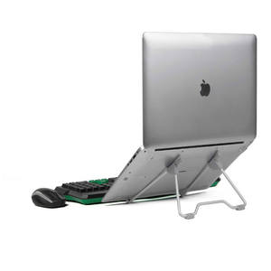 Folding Portable Laptop Stand Viewing AngleHeight Adjustable Quality Aluminum Alloy Bracket Support 10-17inch Notebook