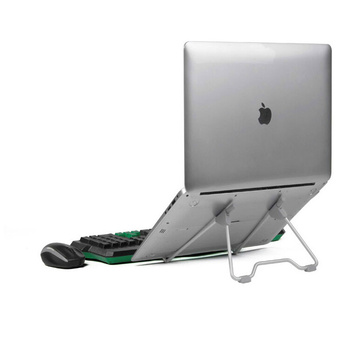folding portable laptop stand with adjustable height and viewing angle for 10-17 inch notebook