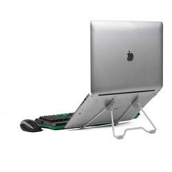Suporte portátil dobrável do suporte da liga de alumínio da qualidade do ângulo de visão do suporte do portátil/altura ajustável