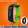 Blood Pressure Heart Rate Monitor Fitness Bracelet Tracker Smart Wristband Pedometer Swim Smart Band Smartband PK Xiaomi Mi Band