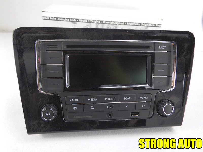 aliexpresscom buy top version vw volkswagen car radio with frame rcn210 rcn 210 bluetooth cd usb aux sd for golf new bora bora update cd stero from