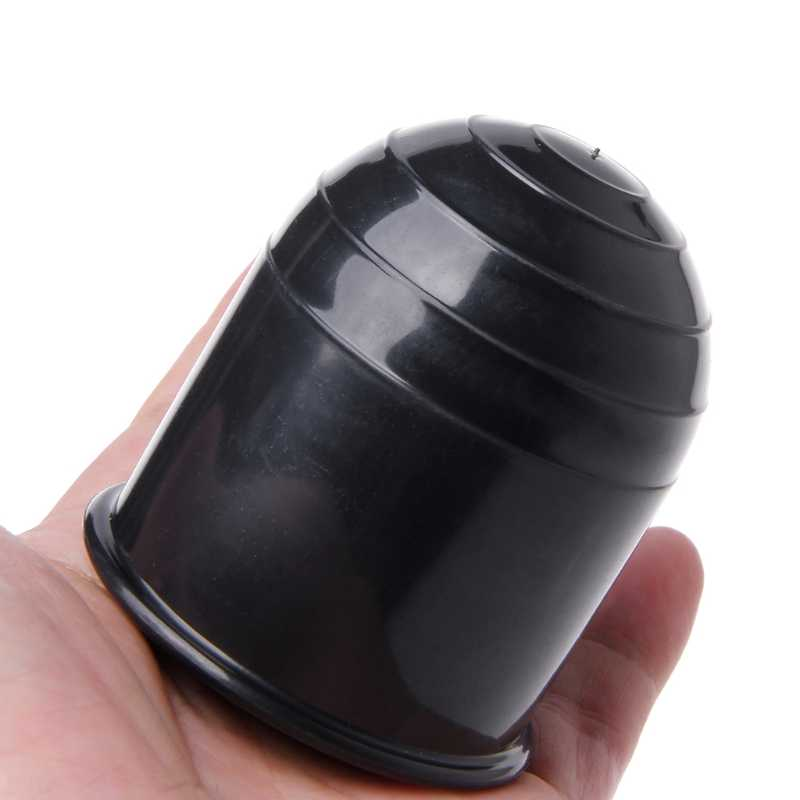 العالمي مقطورة اكسسوارات 50 مللي متر السيارات سحب بار غطاء الكرة غطاء عقبة قافلة مقطورة طوف الكرة حماية