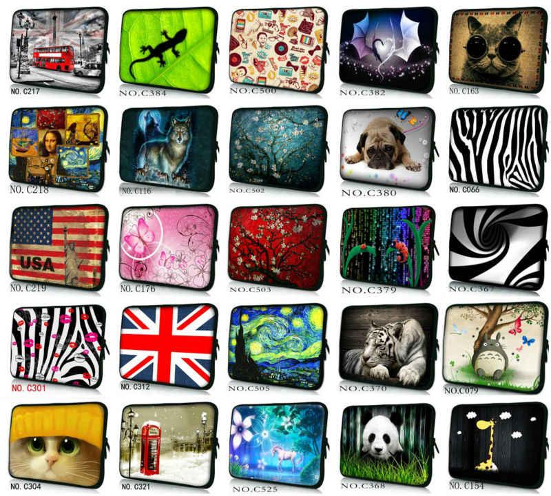 Hond 7 10 12 13 14 15 17 Neopreen Laptoptas Tablet Sleeve Pouch Voor Notebook Tas 13.3 15.4 17.3 Voor Macbook Air/Pro