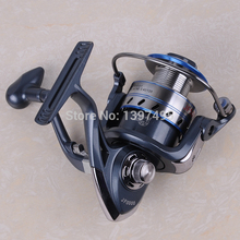 2017 New High Quality 12+1 Ball Bearings 1000-7000 Series Carp Fishing Reel Metal Spool Spinning Reel Sale For Feeder Fishing