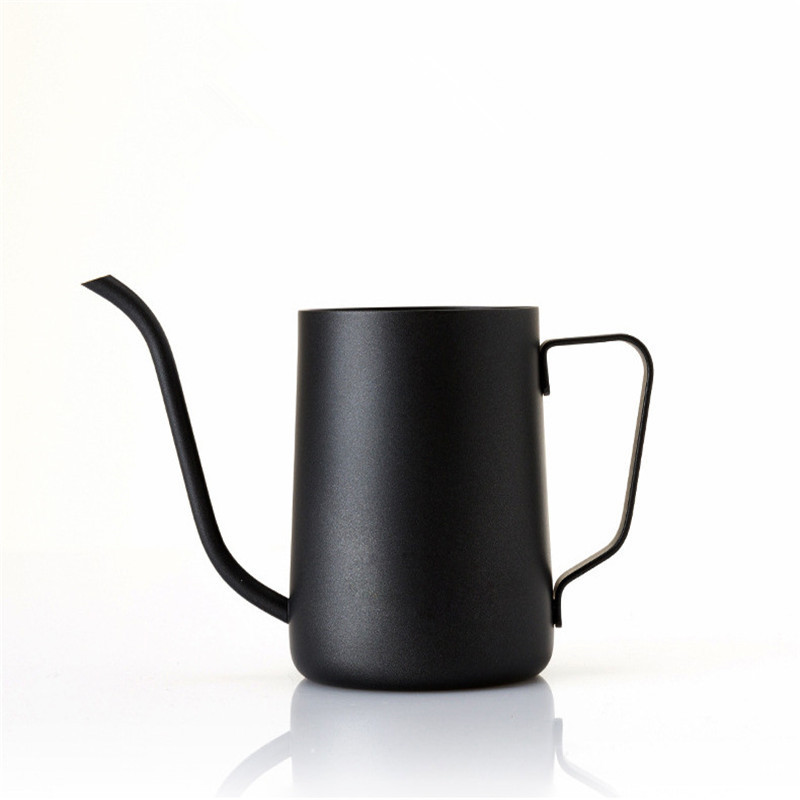 350ml Stainless Steel Gooseneck Pour Over Drip Coffee Maker Tea Coffee Cup Pot Tea Tools Kitchen Tools Matt