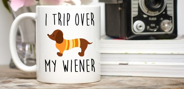 Dachshund Mugs Beer Travel Cup Coffee Mug Tea Cups Home Decor Novelty  Friend Gift Birthday Gifts