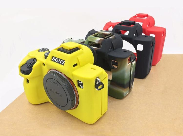 Soft Camera Video Bag Silicone Case For III R3 mark 3 III Rubber Camera case Protective Body Cover Skin
