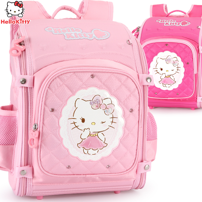 Hello Kitty School Backpack kids Bag Children School Bags For girls primary Schoolbag Orthopedic Backpacks mochila plecak bolsa
