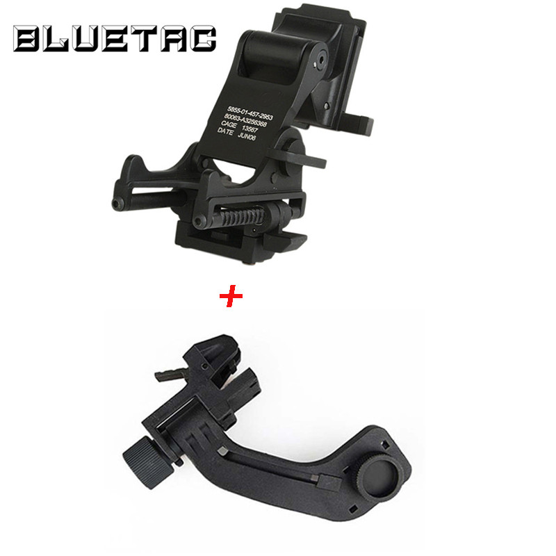 Image 3 - NVG Night Vision Tactical Helmet J Arm Headset Adapter PVS 14 Mount For FAST M88 MICH HelmetHelmets