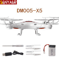 Fly UAVs DM005 Drone 2.4G 4CH 6-Axis Beginners choice RC Helicopter Toys Sturdy and durable Quadcopter Children Gift VS X5C