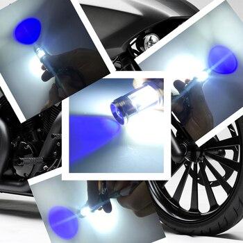 Nanoshine Motorrad Scheinwerfer Lampen BA20D H6 18 W Led COB Hallo/Lo Lampe Roller ATV Motorrad Zubehör Motor Nebel Lichter DC 12 V