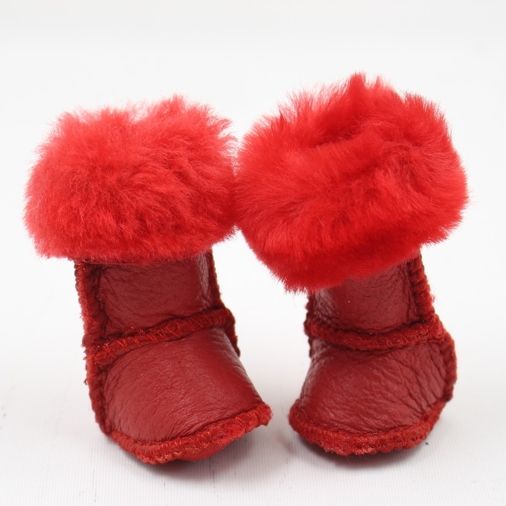 Neo Blythe Doll Leather Winter Shoes 4