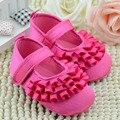 0-18 m bebê menina recém-nascidos sapatos bebé primeiro walker menina infantil sapatos macios rosa e preto