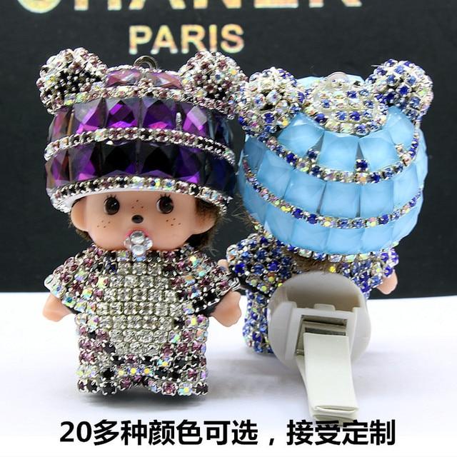 Automotive interieur accessoires kreative diamant panda Kiki nette ...
